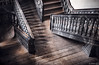 Stories (Ron Jansen - EyeSeeLight Photography) Tags: kongsberg kirke church baroque buskerud norge norway stair stairs story stories old 1761 1740 wood woodwork upwards downwards railing silver mine mines workers light d810 nikonafsnikkor2470mmf28ged