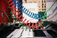 (Levi Mandel (@levimandel)) Tags: 35mm film scan noise grain gothamist newyorkcity street nyc flash truck coils color