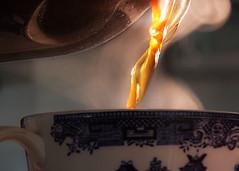 Coffee (LSydney) Tags: coffee macro steam cup macromondays mydailyroutine