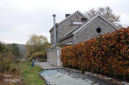 2016. Stationsgebouw Evrehailles-Bauche