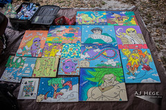 Mind, Body and Soul Festival 2016 (AJ Hge Photography) Tags: ajhgephotography ajhegephotography 2016 event festival canon 60d florida centralflorida furtographer fun newsource article community talent maddoxranch lakeland mindbodysoul love outdoor art day daytime travel explore interesting paintings artwork artist dbz characters beautiful