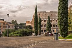 Colloseum (kecal_2) Tags: colloseum pentax pentaxk3 k3 ruins rome romanempire italy architecture park