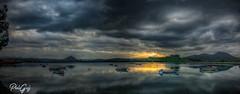 Marismas Santoa (Pelln) Tags: 500px atardeceres spain marismasdesantoavictoriayjoyel panormica sunset santoa cantabria espaa es
