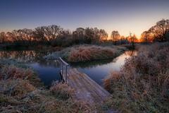 Frosty Morning... (OlegBeliy) Tags: russia nature river bridge   dawn    morning frost  olegbeliy