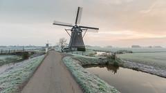 Molengang Streefkerk. (wimzilver) Tags: wimboon wimzilver molengang streefkerk koud cold holland alblasserwaard canonef1635mmf4lisusm canoneos5dmarkiii