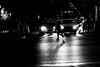 Before the green light (pascalcolin1) Tags: paris13 nuit night pluie rain reflets reflection femme woman traversée trafficlights photoderue streetview urbanarte noiretblanc blackandwhite photopascalcolin