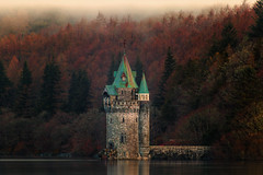 The 'Princess Tower' - Lake Vyrnwy Wales (Geoff Moore UK) Tags: tower princess fantasy fairytale landscape lake building architecture victorian gothic gothicrevival