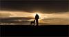 The Touch, Sumner Park, Portland, Maine (g.m.kennedy) Tags: mansbestfriend maine mananddog silhoutte sunset portland sumnerpark