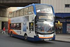 Stagecoach AD Enviro 400 MMC 10614 SN16OWU - Stockport (dwb transport photos) Tags: stagecoach alexander dennis enviro 400mmc stockport 10614 sn16owu
