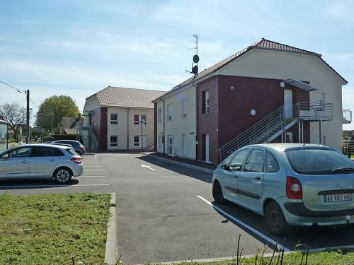 7 logements sociaux à Fontaine, rue du Ganichet