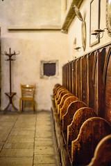 Prague - Old New Synagogue (bautisterias) Tags: czechrepublic eskrepublika bohemia bhmen centraleurope easterneurope czech bohemian rpubliquetchque repblicacheca tschechien tschechischerepublik echy esko   prague prag praha praga    cold autumn