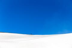 Walking on the Ridge (KAM ()) Tags: snow landscape 6d canon sicily italy volcano etna mount
