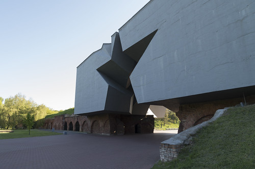 Main entrance of Brest Fortress Memorial Complex, 05.05.2014.