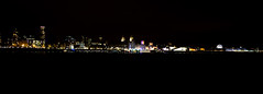 Liverpool Skyline. (dave.mcculley) Tags: liverpoolskyline night dark lights water sky birkenhead skyline landscape merseyside