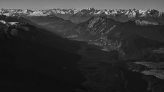 5-Austria-Alps (@EricAdams321) Tags: austria alps blackandwhite bnw mountains sunrise flying travel aviation windowseat windowseats avgeek aerial overhead airplane earth landscape nature sky view