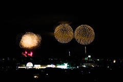 fireworks (Chikage A) Tags: fireworks saitama japan noght autumn winter sky