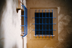 Blue Grid °216/365 (donlunzo16) Tags: windows summer house color film 35mm de lens spain nikon df holidays raw nef pack manual nikkor mallorca palma vignette grids ais lightroom day216 f114 preset vsco day216365 365the2015edition 3652015 4aug15