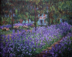 Monet's Garden at Giverny (Greatest Paka Photography) Tags: light paris france color art history museum garden painting landscape artist naturallight painter impressionist museedorsay giverny claudemonet dorsaymuseum lejardin frenchimpressionism fondationclaudemonet