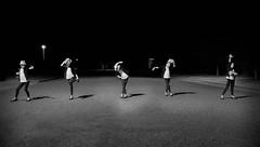 Smooth Criminal (Jason _Ogden) Tags: road street blackandwhite white black monochrome hat night nikon mj smooth criminal michaeljackson fedora choreography kingofpop dancinginthestreet d90 flickrfriday smoothcriminal vr18200mm