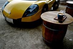 DSC09868-1 (macco) Tags: auto car sport yellow spider automobile renault