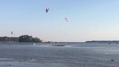Kitesurfing stunt (jtunkelo) Tags: beach sports finland fun helsinki outdoor extreme surfing kitesurfing ranta 2015 kallahti kiteboardig