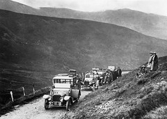 Devil's Elbow - Glen Beag (Dundee City Archives) Tags: old cars climb hp glenshee photos 20 napier hairpin steep 1900s a93 bends cairnwell devilselbow glenbeag es1338