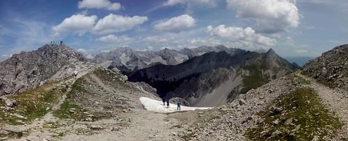 Vista desde Hafelekar, Tirol, Austria