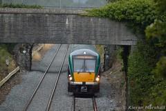 22032 approaches Kildare, 18/9/15 (hurricanemk1c) Tags: irish train rail railway trains railways irishrail rok rotem kildare 2015 icr iarnród 22000 22032 éireann iarnródéireann premierclass 1320corkheuston 5pce