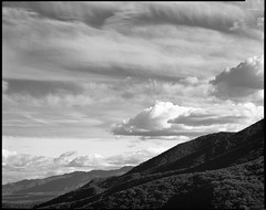 The Long View from Sierra Madre Road (Summicron20/20) Tags: red 30 back inch kodak trix 11 os dot 8x10 filter expired v10 xtol reduction 320txp 25a apochromat deardorff goerz f125 artar