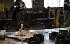 Milwaukee Blacksmith USA (MalaneyStuff) Tags: usa wisconsin milwaukee blacksmith doorsopenmke2015