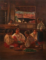 Jorge Pineda: Las Buyeras (Leo Cloma) Tags: art furniture antique auction philippines auctions filipino antiques salcedo cloma