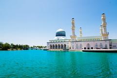 馬來西亞沙巴 Kota Kinabalu, Malaysia, City Mosque