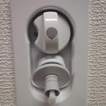 洗濯機用水栓の写真