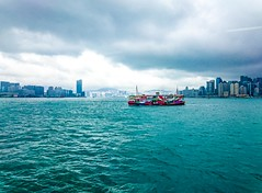crossing Victoria Harbour (Kai-Ming :-))) Tags: blue green window beautiful ferry wonderful island fantastic asia crossing cloudy sony awesome great bluewater wave rainy excellent colourful starferry kowloon android touristspot lantauisland victoriaharbour colourcontrast iso50 kowloonpeninsula kaiming asiasworldcity doubledeckferry e6533 oct5201520iexplore oct5201520explorebestranking