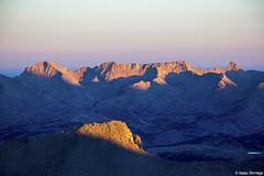 Sierra Nevada Alpenglow, California (isaac.borrego) Tags: california mountains sunrise nationalpark peaks mountwhitney sierranevada sequoia alpenglow canonrebelt4i