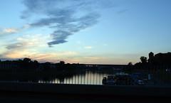 Cracovia (igorigor88) Tags: city trip travel pink sunset summer sky holiday reflection water clouds river nikon tramonto nuvole estate blu fiume rosa cielo acqua azzurro riflessi viaggio vacanza sera citt d3300