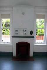 Fire Place in Keeper's Office (California Will) Tags: lighthouse florida fl staugustine lighthousetrek