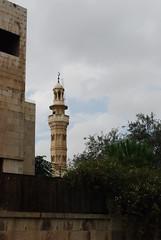 Minaret on Rainbow Street - Jebel Amman (jrozwado) Tags: asia minaret amman mosque jordan islamic مسجد الأردنّ عمّان jebelamman جبلعمان