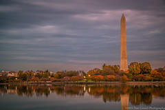 20151107 Dc Tidal Basin015 (Dan_Girard_Photography) Tags: reflection monument water washingtondc washington fallcolors jefferson tidalbasin 2015 dangirardphotography