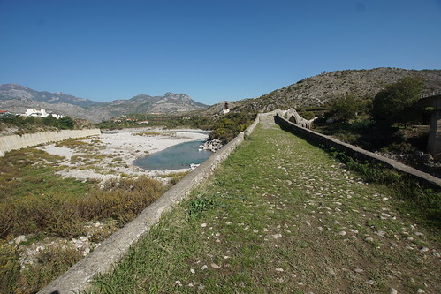 Return to the Sinan Bridge at Mesi, near Shkodra in Albania
