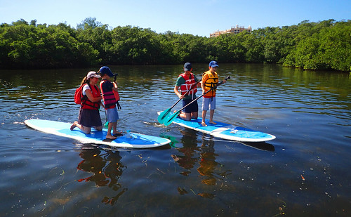 Spending time out on the water equals great memories for kids.