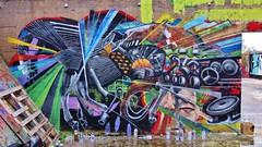 Cee PIl / Dok Noord - 23 okt 2015 (Ferdinand 'Ferre' Feys) Tags: streetart graffiti belgium belgique belgië urbanart graff ghent gent gand graffitiart arteurbano artdelarue urbanarte ceepil