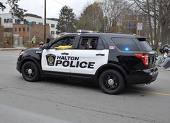 Halton Regional Police (car show buff1) Tags: rescue canada ford mobile downtown explorer tahoe police utility victoria chevy dodge service crown law enforcement squad incident taurus region command regional charger oakville interceptor opp caprice on ppv halton