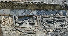 Saint-Restitut - Saint-Restitut (Martin M. Miles) Tags: france hare 26 mason frieze paca zodiac rhonealpes drôme louisxi tricastin funerarytower universalspider saintrestitut louistheprudent norudder artromanprovençal tourfunéraire sidonius theemarys