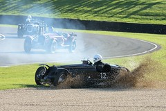 Overrun (PY Gallery) Tags: uk england car race nikon bugatti 1934 overrun