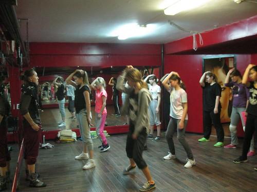 """Занятия в школе танцев """"Капуччино"""""""