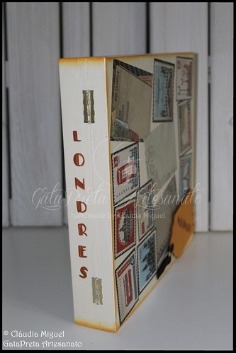 """Caixa de recordações de viagem """"London Memories"""""""