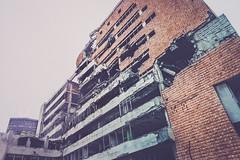 NATO Bombardovanje Srbije 1999 (Demipoulpe) Tags: building architecture concrete war serbia 1999 belgrade bombing yugoslavia brutal balkan archi 2015 archiporn beograde srbije bonbing