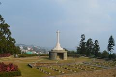 War Cemetery Kohima (Hrishi the experimentor) Tags: world 2 cemetery war tour kohima nagaland