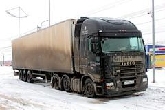 IVECO STRALIS 450  B 937 EE 750 (RUS) (zauralec) Tags: auto b car company transportation 450 ee iveco logistics rus 750    937 kurgan stralis     umiat    shoppingcenterhypercity